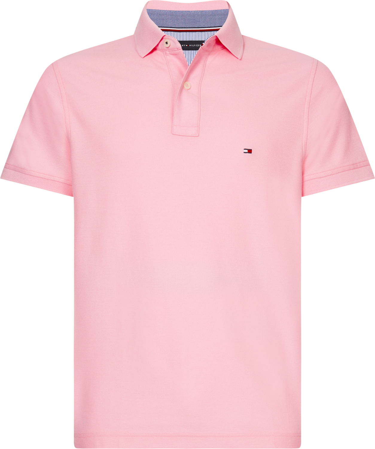 TOMMY HILFIGER SLIM POLO CLASSIC PINK