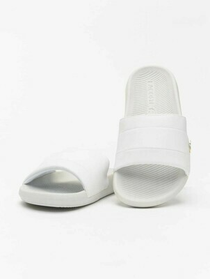 LACOSTE CROCO SLIDE 120 3 US CFA WHITE