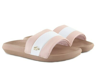 LACOSTE CROCO SLIDE 120 3 US CFA PINK