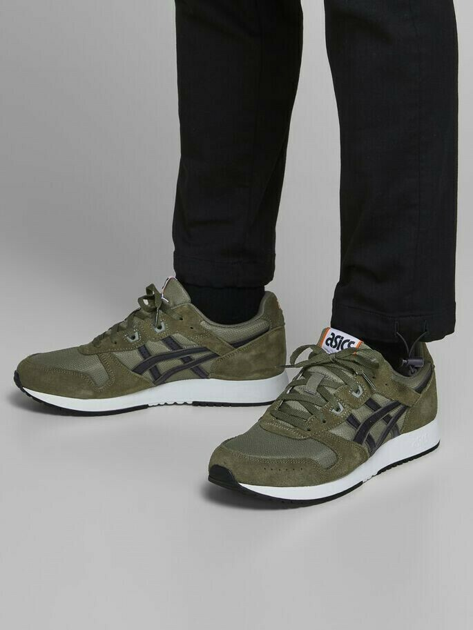 ASICS SNEAKERS GREEN / OLIVE NIGHT