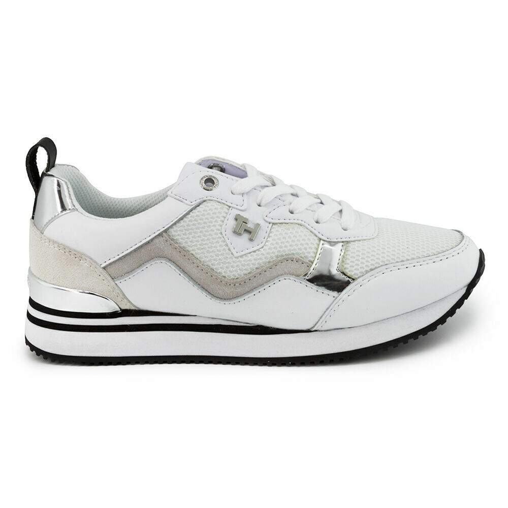 Tommy Hilfiger Active City Mixed Panel Trainers