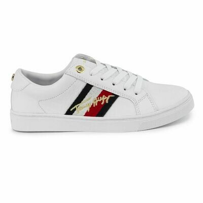 Tommy Hilfiger Metallic Signature Cupsole Trainers