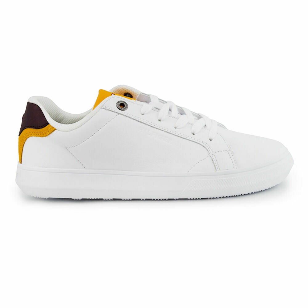 Tommy Hilfiger Essential Leather Cupsole Pop