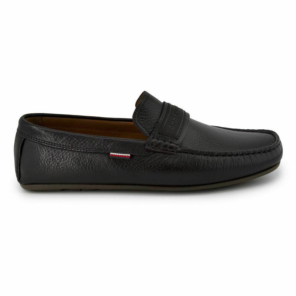 Tommy Hilfiger Leather Driving Shoes