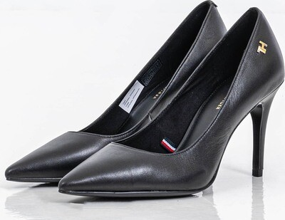 Tommy Hilfiger Essential High Heel Leather Pumps