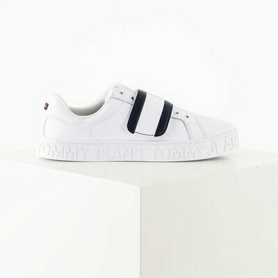Tommy Jeans Colour-Blocked Strap Trainers