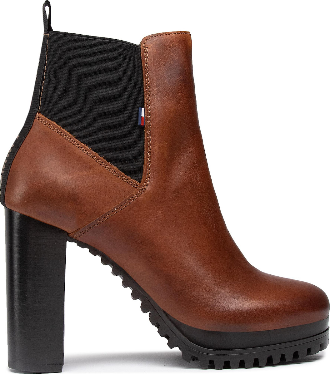 Tommy Jeans Essential Cleated Sole Ankle Boots