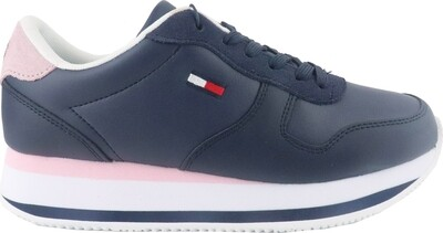 Tommy Jeans Essential Colour-Blocked Flatform Trainers