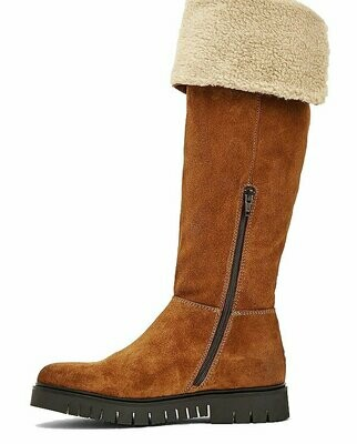 Tommy Jeans Fleece Cuff Warm Lined Suede Boots
