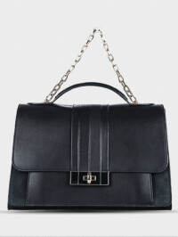 Tommy Hilfiger Chic Leather Satchel