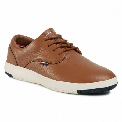 Tommy Hilfiger City Lightweight Leather Trainers Shoes