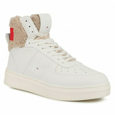Tommy Hilfiger Lewis Hamilton Shearling High-Top Trainers