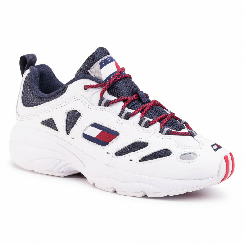 Tommy Jeans Heritage Cutout Detail Trainers