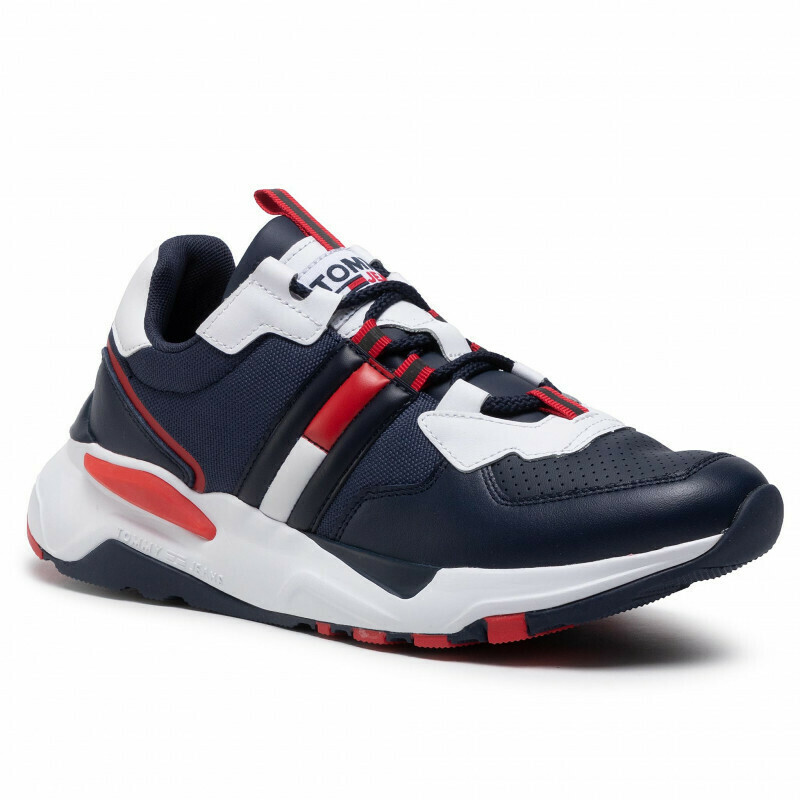 Tommy Jeans Colour-Blocked Chunky Sole Trainers