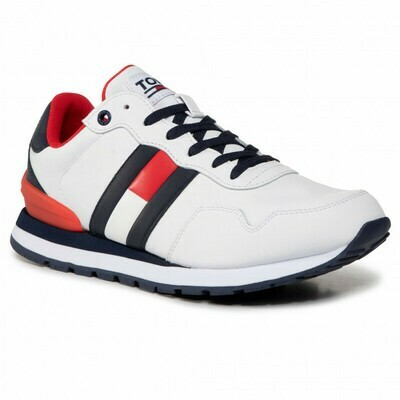 Tommy Jeans Colour-Blocked Signature Trainers