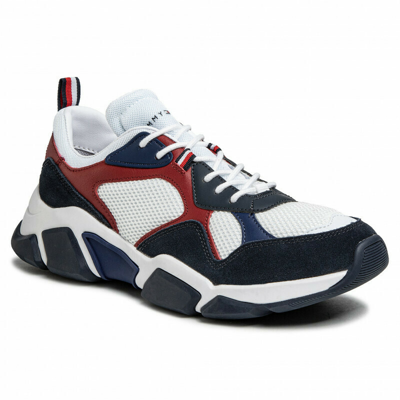 Tommy Hilfiger Panelled Chunky Lace-Up Trainers