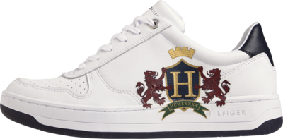 Tommy Hilfiger Shield Logo Low-Top Trainers