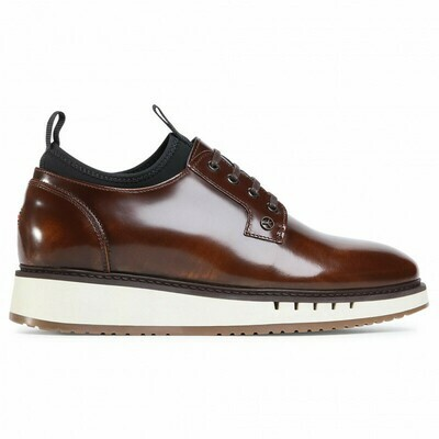 Tommy Hilfiger Mercedes-Benz Leather Hybrid Derby Shoe