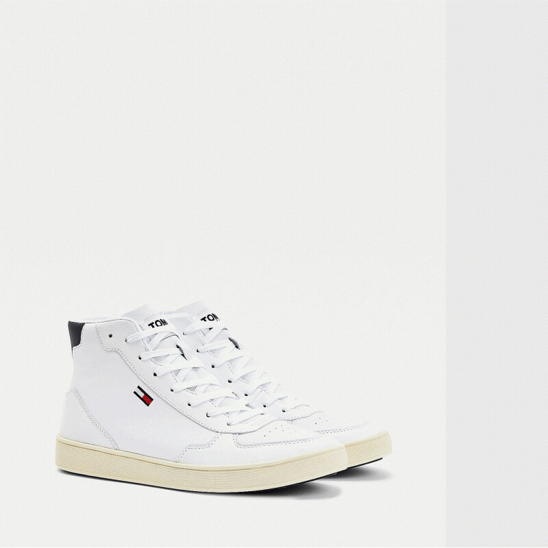 Tommy Jeans Essential Mid-Top Cupsole Trainers