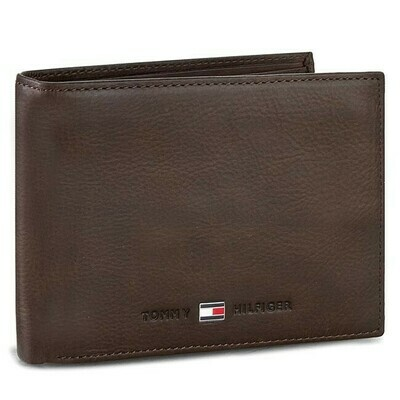 Tommy Hilfiger Johnson Nubuck Leather Wallet