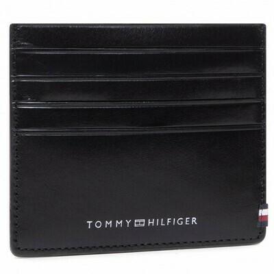 Tommy Hilfiger Polished Leather Card Holder