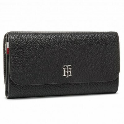 Tommy Hilfiger TH Essence Large Monogram Flap Wallet