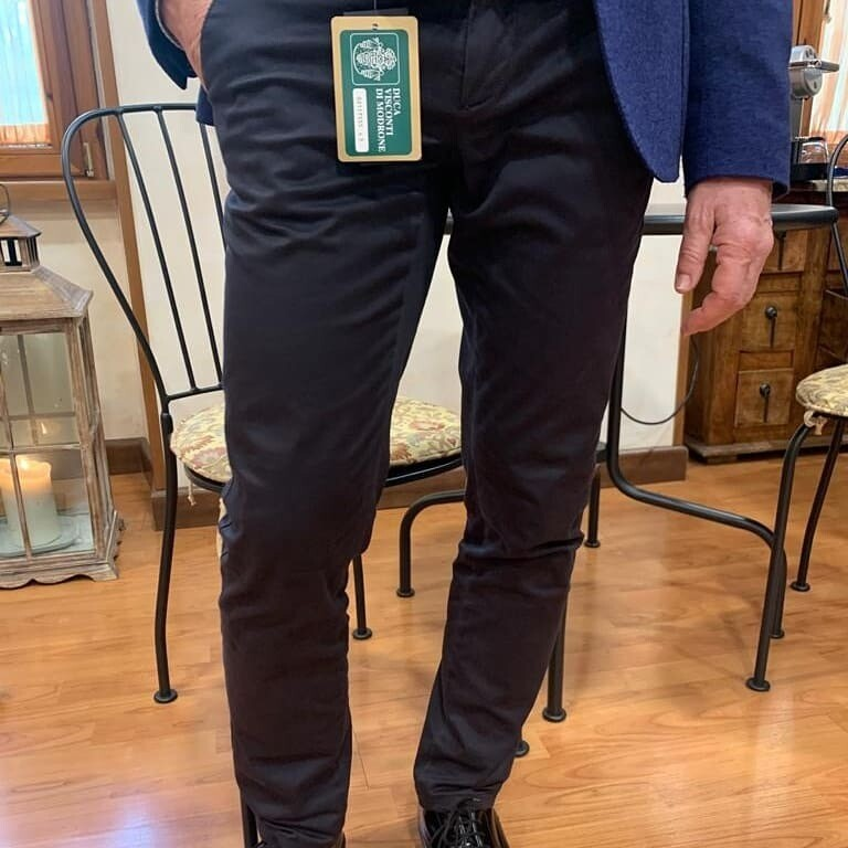 Pantalone fustagno rasato, comfort
