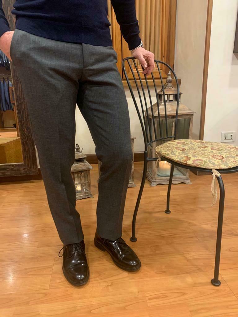 Pantalone lana pettinata
