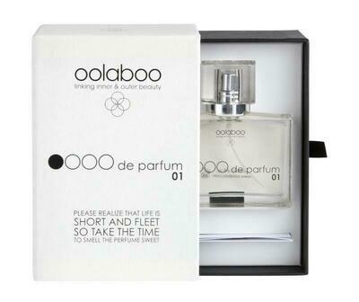 OOLABOO OOOO de parfum 01 in luxury box with booklet