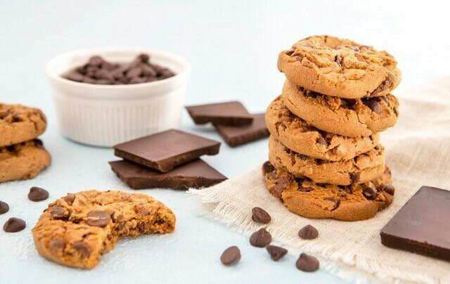 DIY bak box 'Chocolate chip cookies'