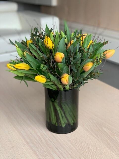 Boeket tulpen 1 kleur