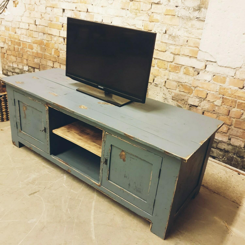 Teakwood tv-meubel old look