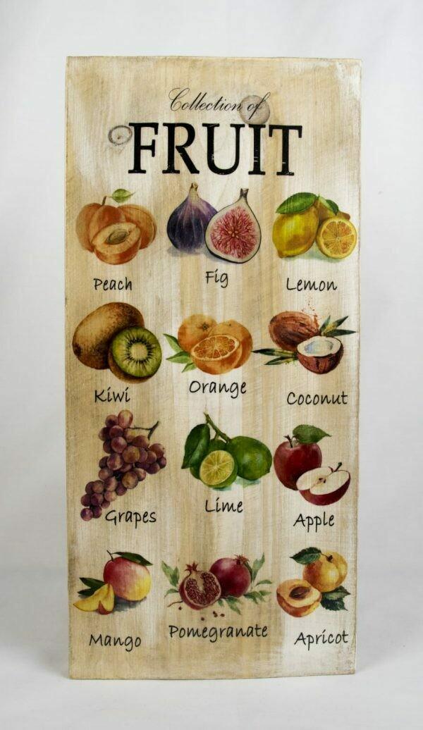 Decoratieplank Fruit