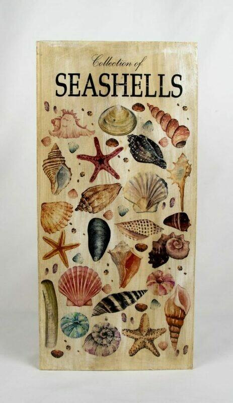 Decoratieplank Seashells