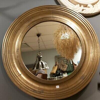 Spiegel rond bronzen PTMD