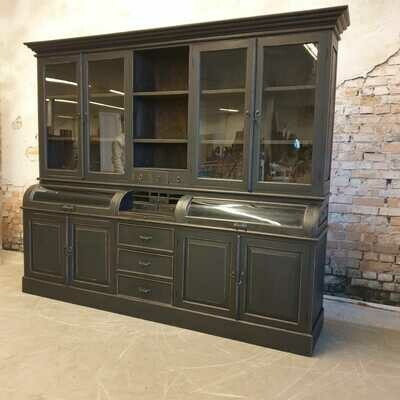 XXL Teak grutters - buffet - bread cabinet including restyling as desired.  (available to order)