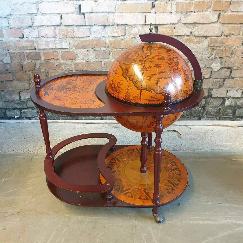 Bar Globe Trolley