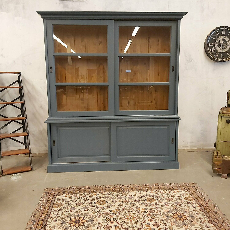 Pine sideboard Blue / Gray