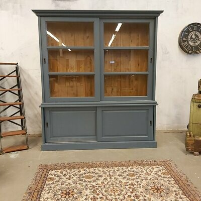 Pine sideboard Blue / Gray