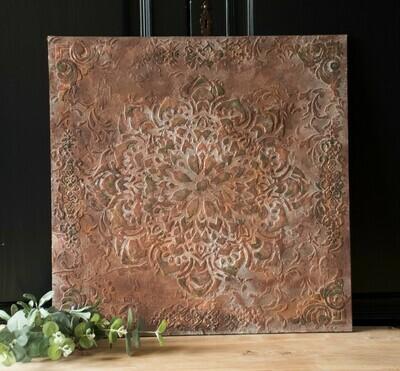 Wall panel rust