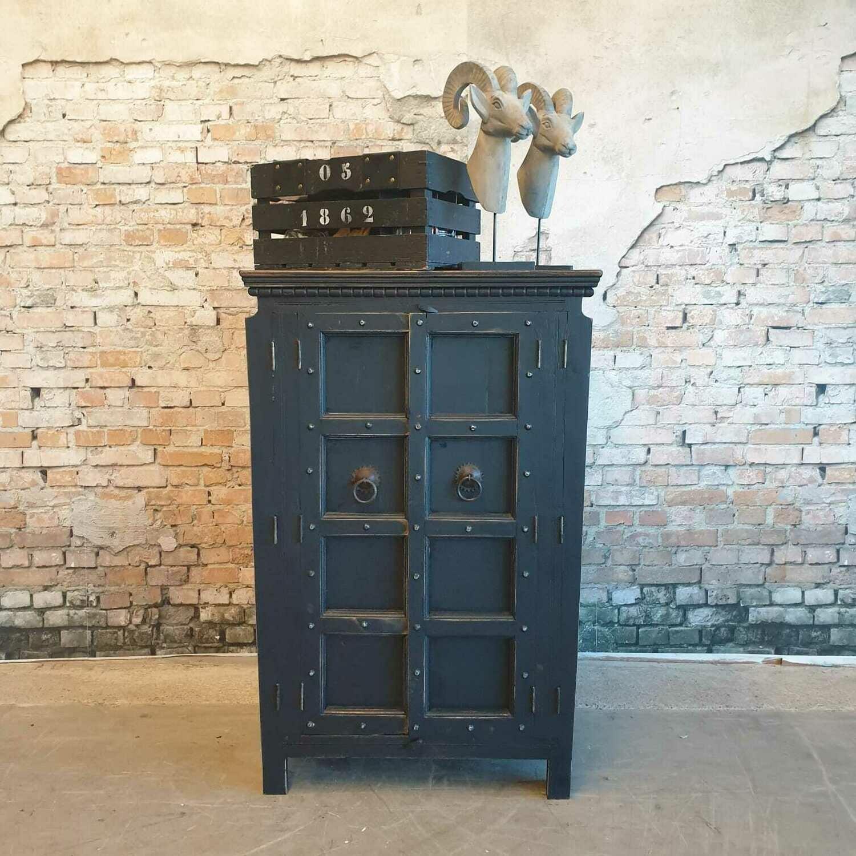 Industrieel Cabinet Antraciet Black