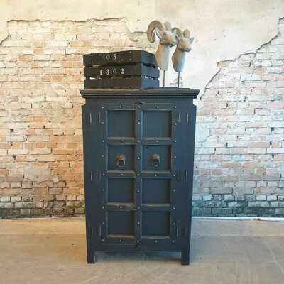 Industrieel Cabinet Antraciet Black