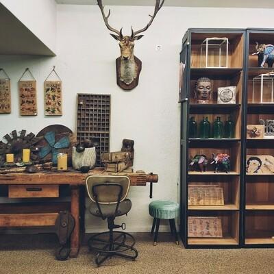 Old rural workbench