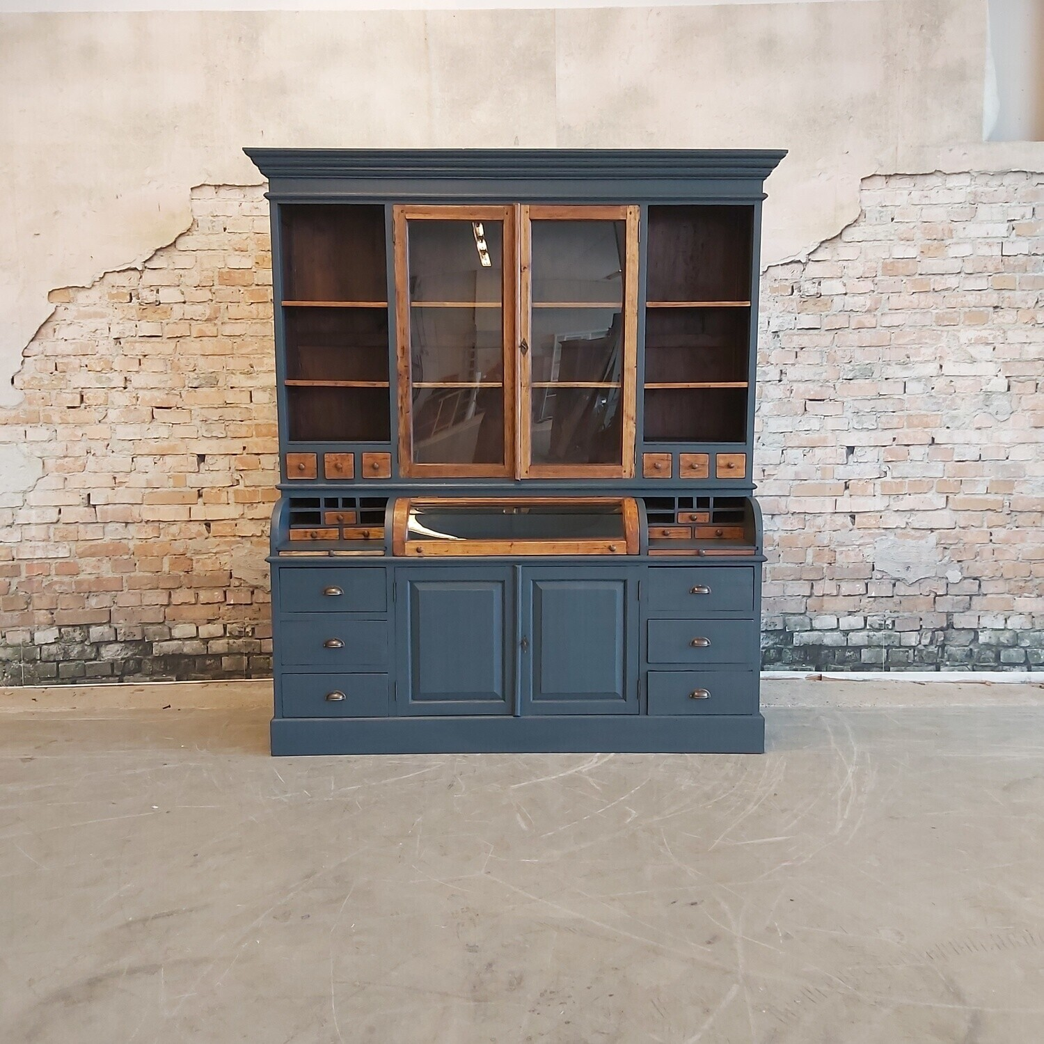 Teak grutters / buffet / bread cabinet, various colours. (available to order).