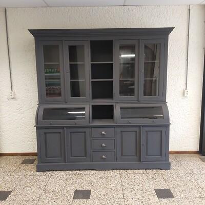 Industrial grutters - buffet - bread cabinet Metal Black