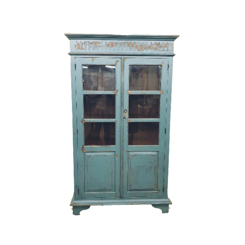 Display cabinet Industrial Blue