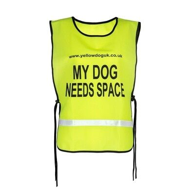 MY DOG NEEDS SPACE™ Lightweight Tabard