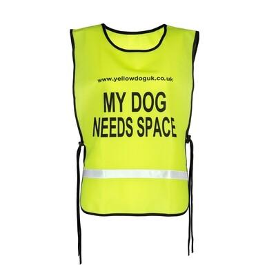 MY DOG NEEDS SPACE™ Lightweight Tabard