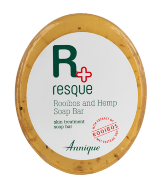 Annique Resque Rooibos and Hemp Seed Soap Bar 125g