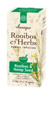 Annique Rooibos & Hemp Seed Tea 50g (20 Bags)